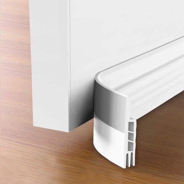 Tochtstrips voor deuren - Witte tochtstopper - tochtstrips zelfklevend 100 cm x 5 cm